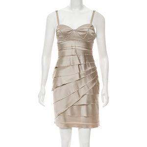 Vera Wang Lavender Label   Sleeveless Satin Dress